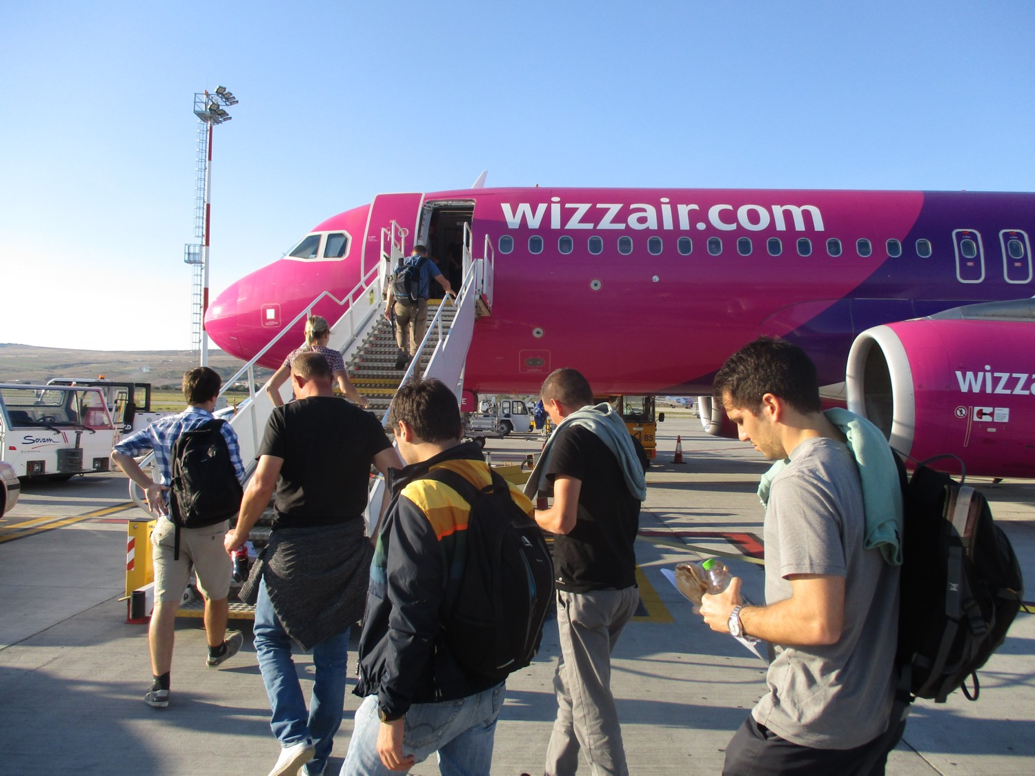 2018 fietsreis sept Wizzair